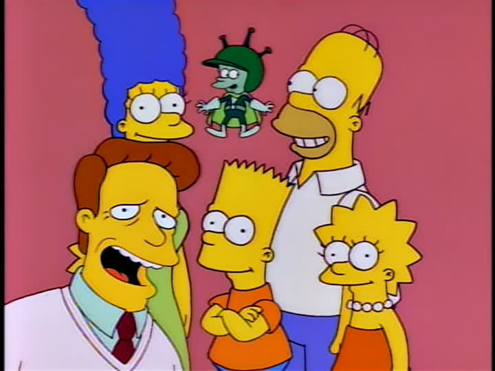 Image result for great gazoo simpsons