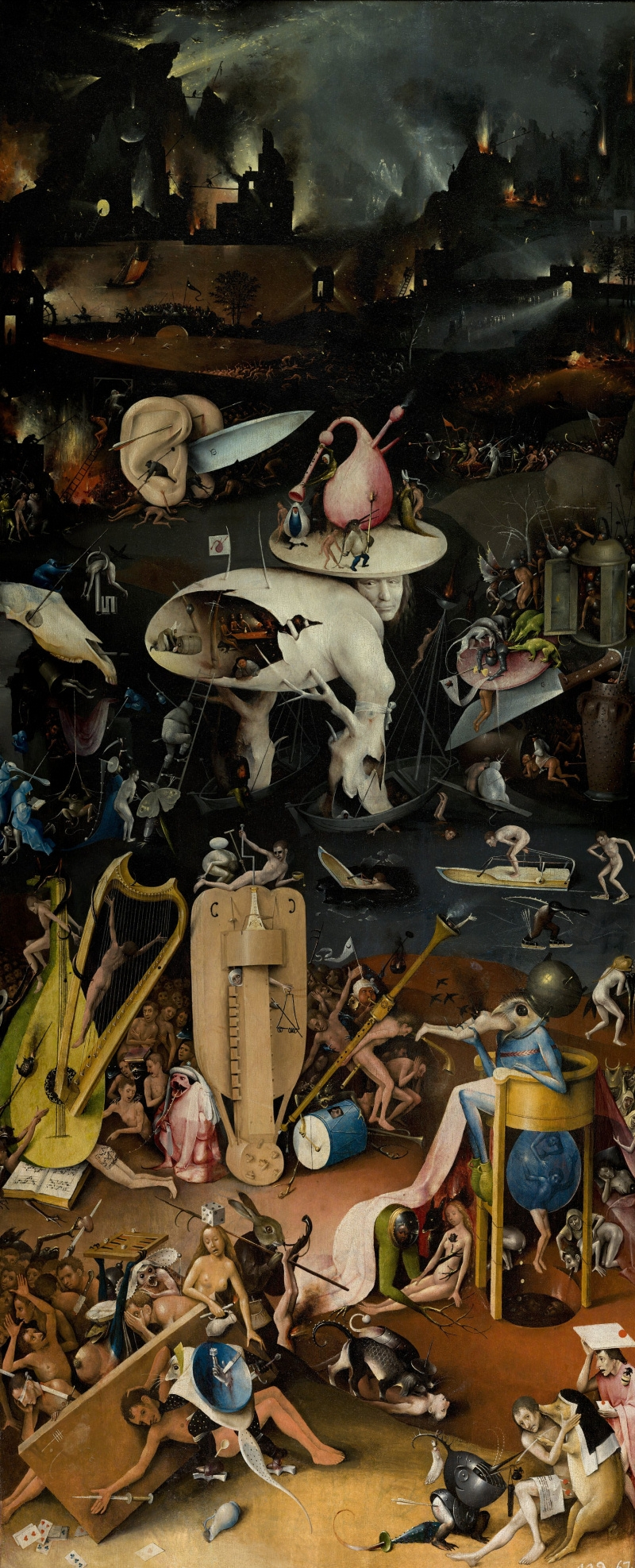 Return to the nightosphere tumblr - Hieronymus bosch garden of earthly delights ...